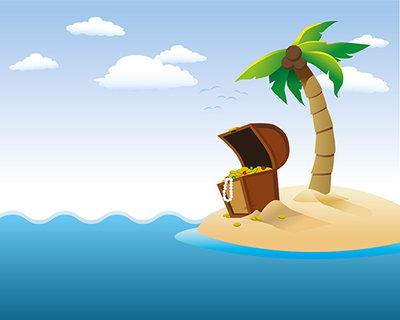 Clipart treasure island free stock Treasure island clipart - WikiClipArt free stock
