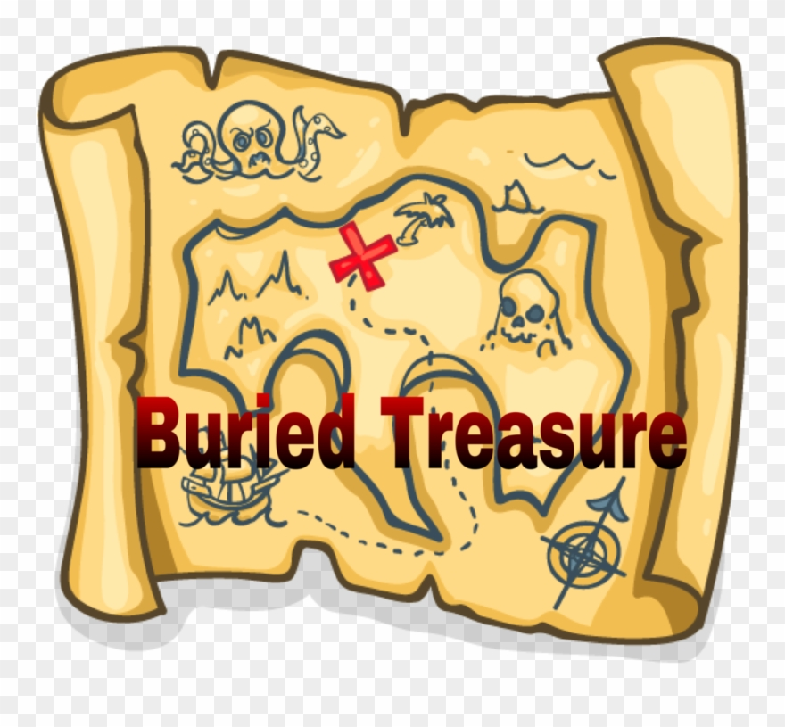 Clipart treasure map png transparent library Pirate Treasure Map Png Clipart (#1861011) - PinClipart png transparent library