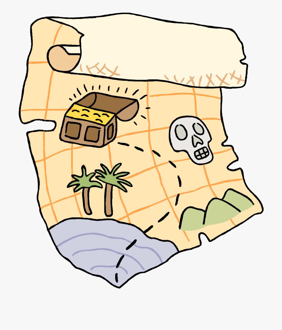 Clipart treasure map png Treasure Map Clip Art - Treasure Hunt Clipart #950397 - Free ... png