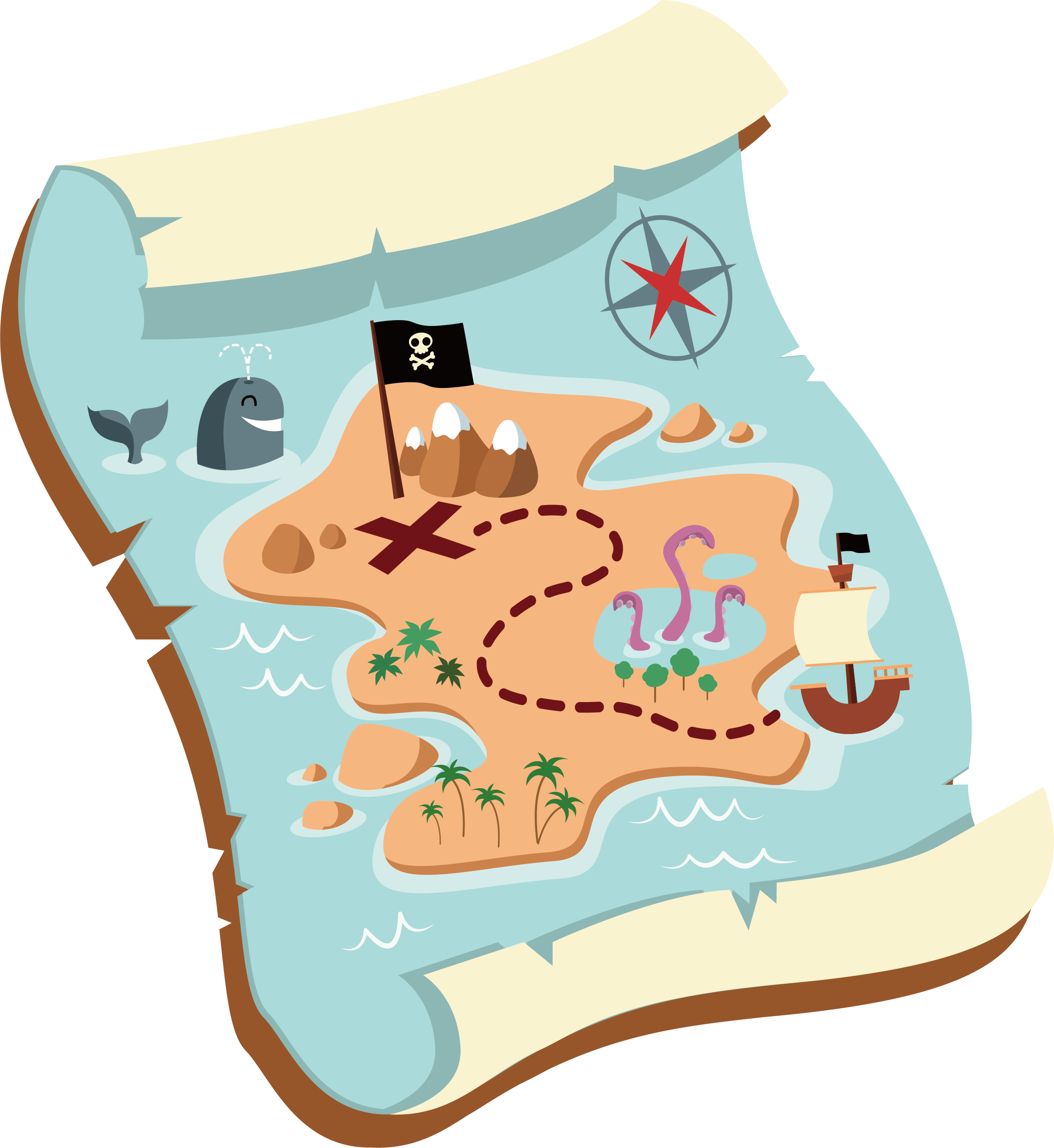 Clipart treasure map clipart library download Clip art treasure map clipart images gallery for free download ... clipart library download