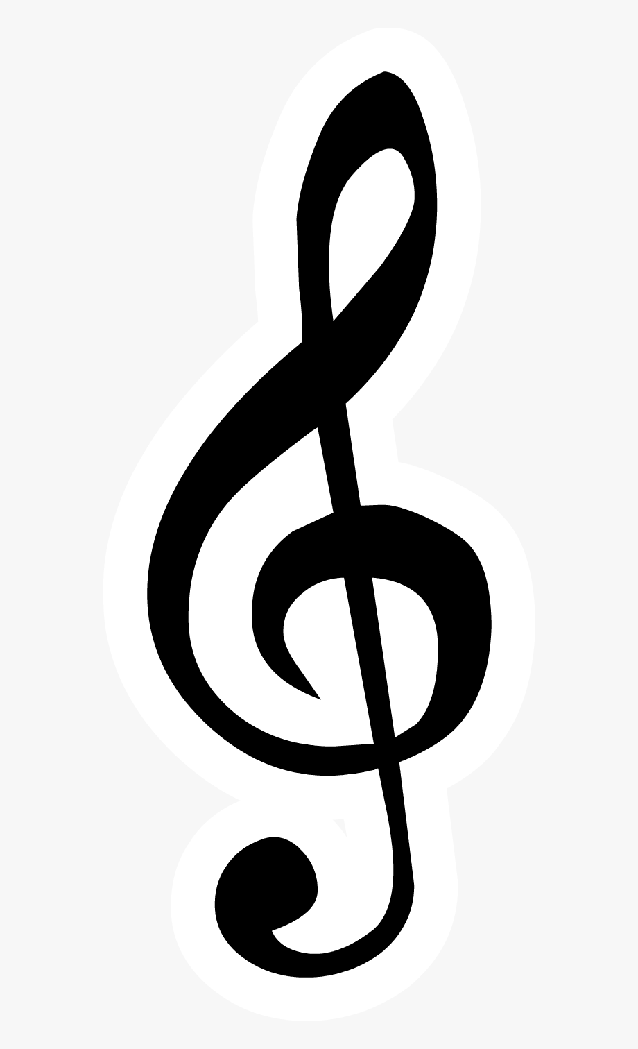 Clipart treble clef png library library Clef Note Clipart G Clef - Treble Clef Note Png #327689 - Free ... png library library