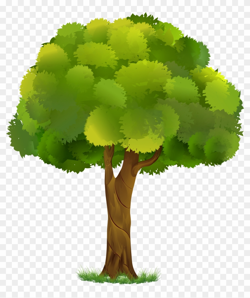 Clipart tree background vector freeuse library Tree Transparent Clip Art Image - Transparent Background Tree ... vector freeuse library