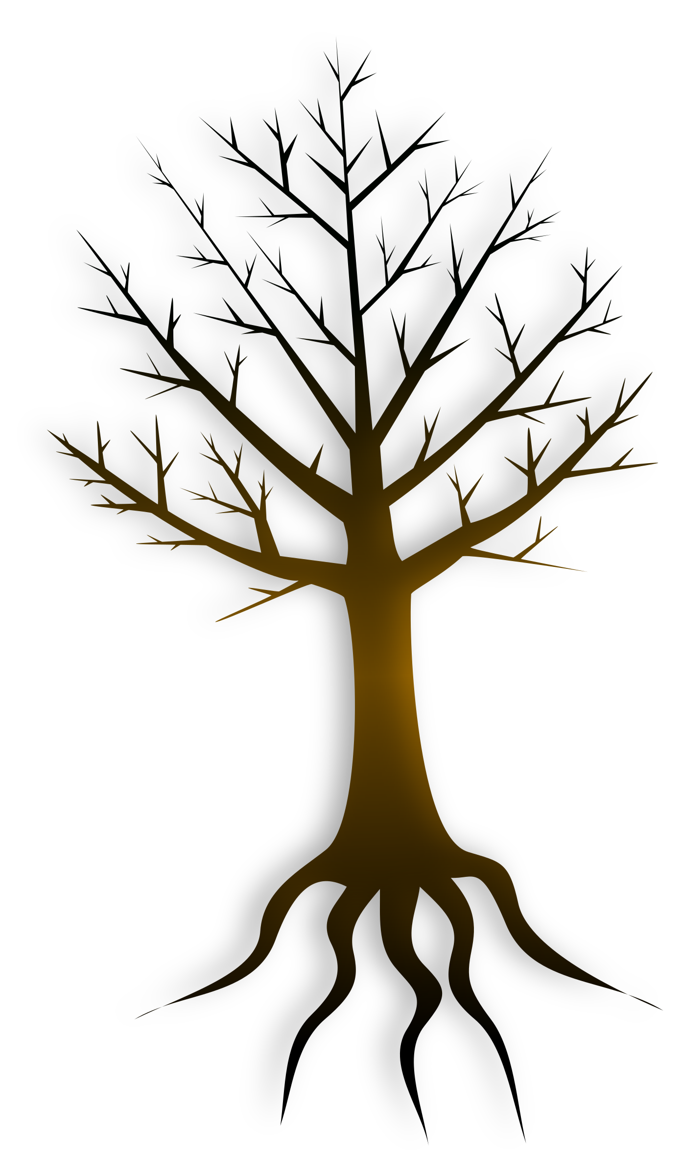 Clipart - Tree Trunk graphic free