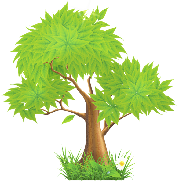 House plant clipart clip Green Painted Tree PNG Clipart | Trees , Tree Houses & Shrubs The ... clip