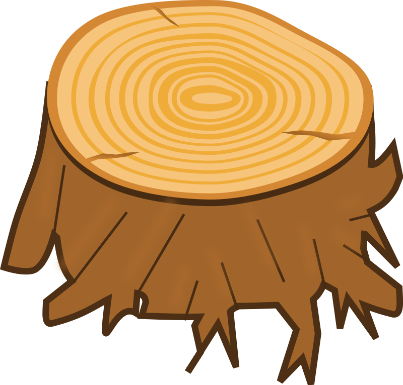 Tree ring clipart vector free stock Tree Stump Clipart free | Camping Out Theme Bulletin Boards and ... vector free stock