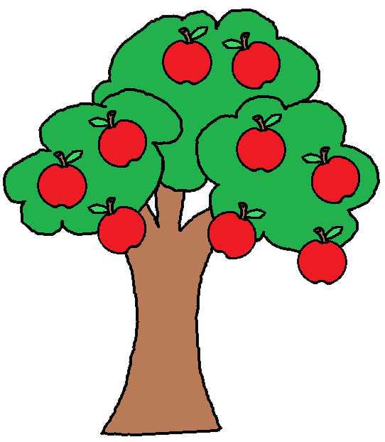 Free clipart apple leaf svg Tree Apple Orchard Clipart - Clipart Kid svg