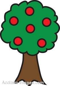 Clipart tree with apples png library download Apple Fruit Tree Clip Art png library download
