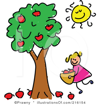 Clipart tree with apples jpg free stock Apple Tree Branch Clipart | Clipart Panda - Free Clipart Images jpg free stock