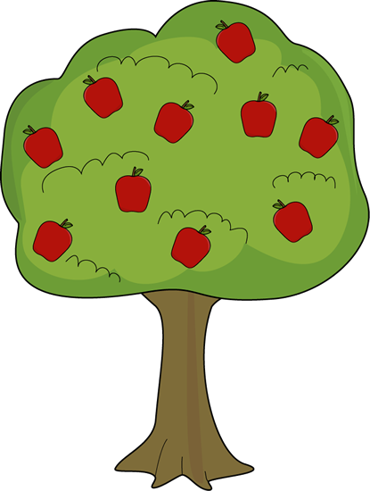 Clipart tree with apples banner freeuse library Apple Clip Art - Apple Images banner freeuse library