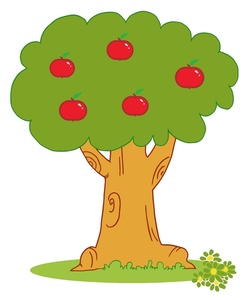 Clipart tree with apples banner library stock Apple Tree Branch Clipart | Clipart Panda - Free Clipart Images banner library stock