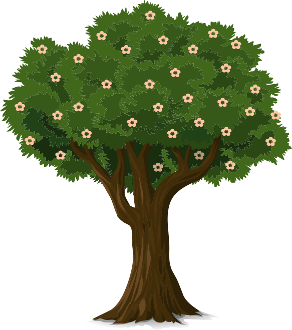 Tree with face clipart clip art royalty free download Clipart trees and flowers - ClipartFest clip art royalty free download