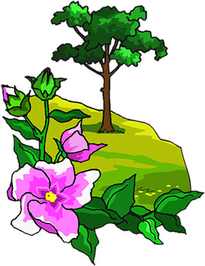 Clipart trees and flowers graphic library Free Animated Trees - Tree Clipart - Flowers graphic library