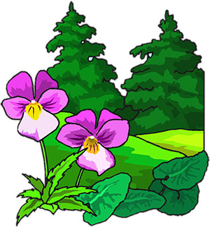 Clipart trees and flowers clip art free stock Free Animated Trees - Tree Clipart - Flowers clip art free stock