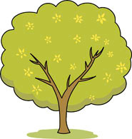 Clipart trees and flowers jpg transparent stock Free Trees Clipart - Clip Art Pictures - Graphics - Illustrations jpg transparent stock