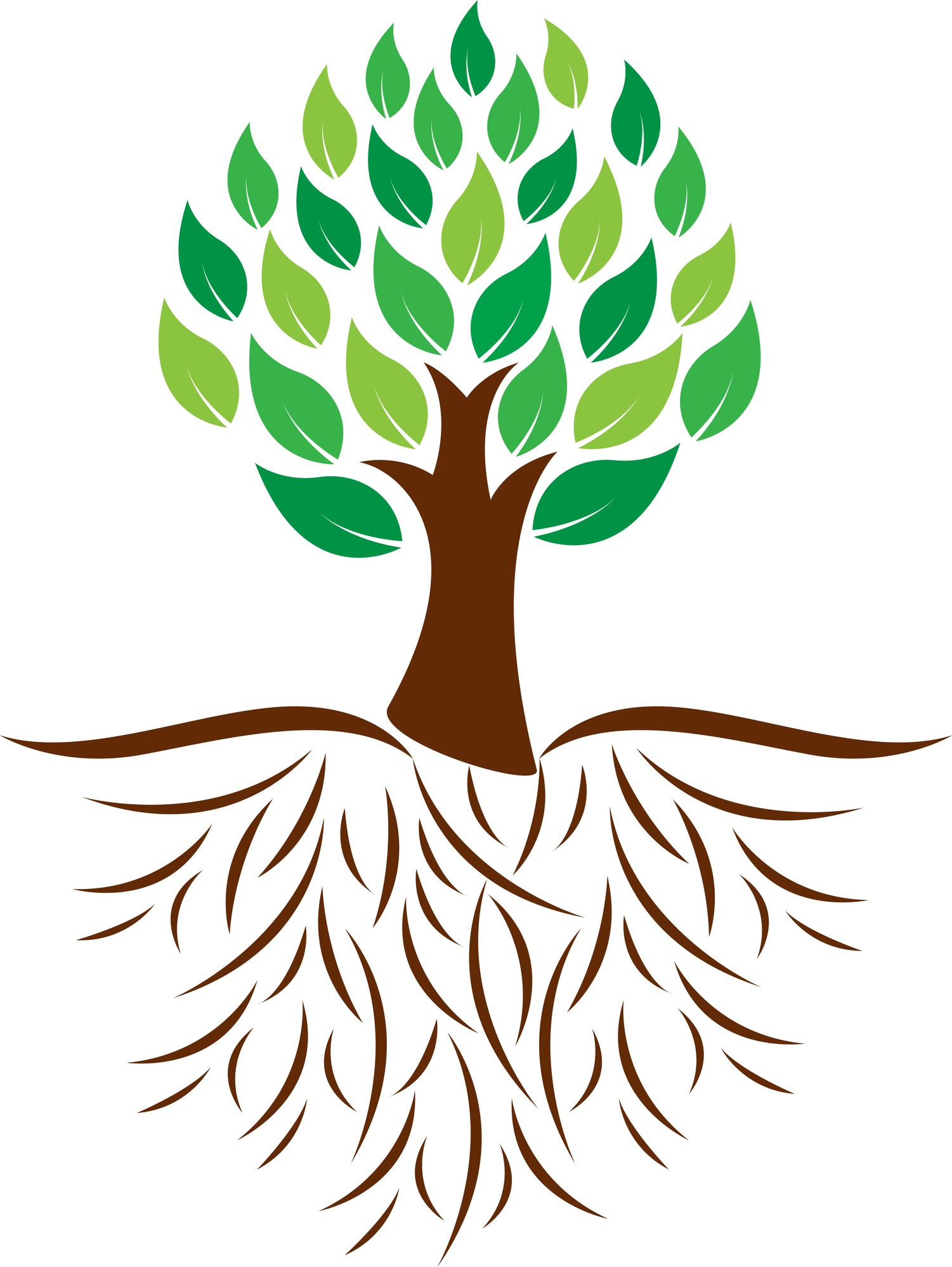 Clipart trees with roots banner freeuse stock Free Tree Roots Cliparts, Download Free Clip Art, Free Clip Art on ... banner freeuse stock