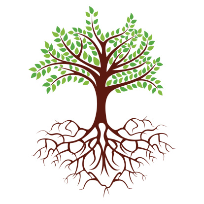 Clipart trees with roots vector royalty free download Tree Roots Clipart & Look At Clip Art Images - ClipartLook vector royalty free download