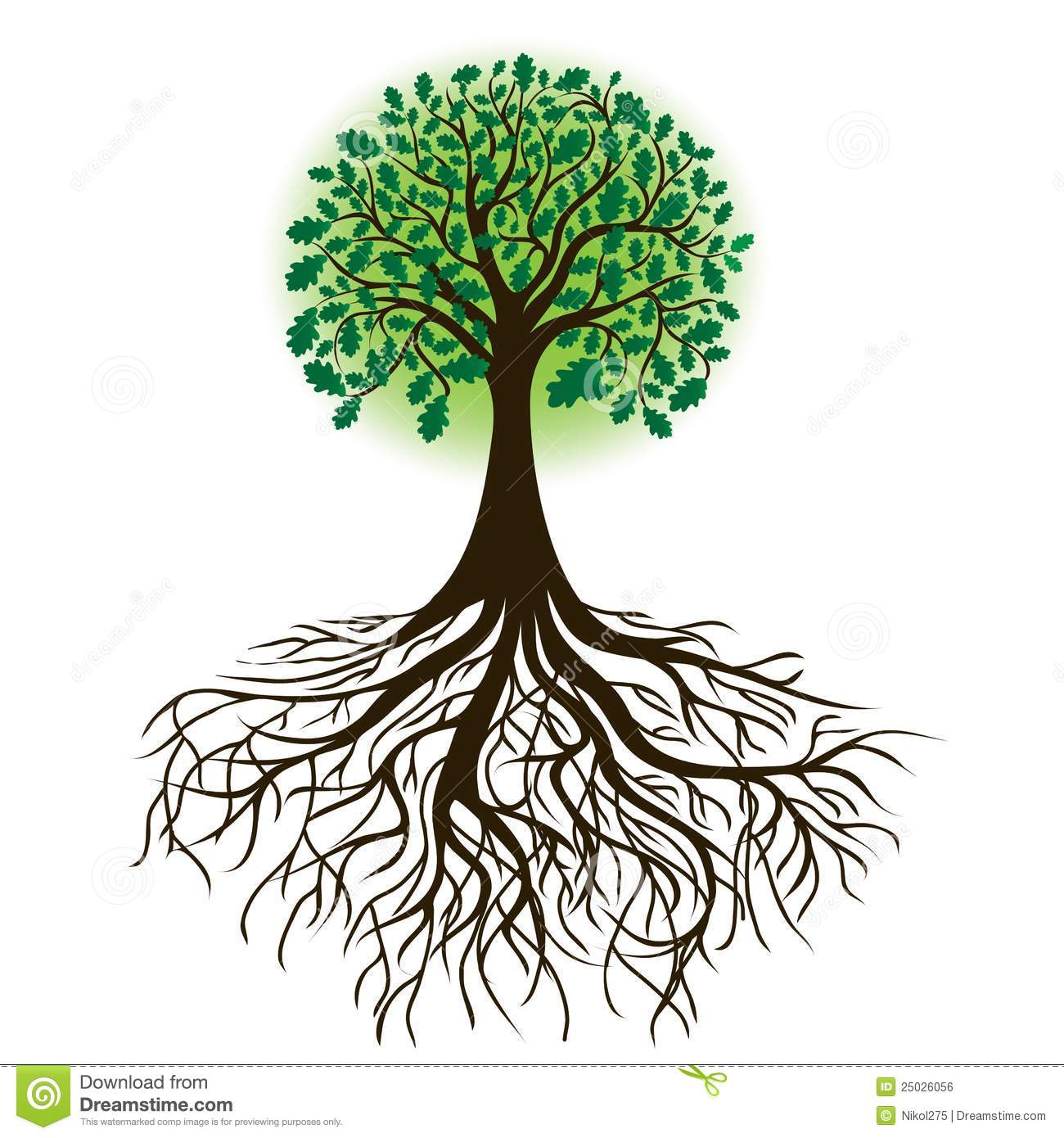 Clipart trees with roots vector freeuse stock 15+ Tree Roots Clipart | ClipartLook vector freeuse stock