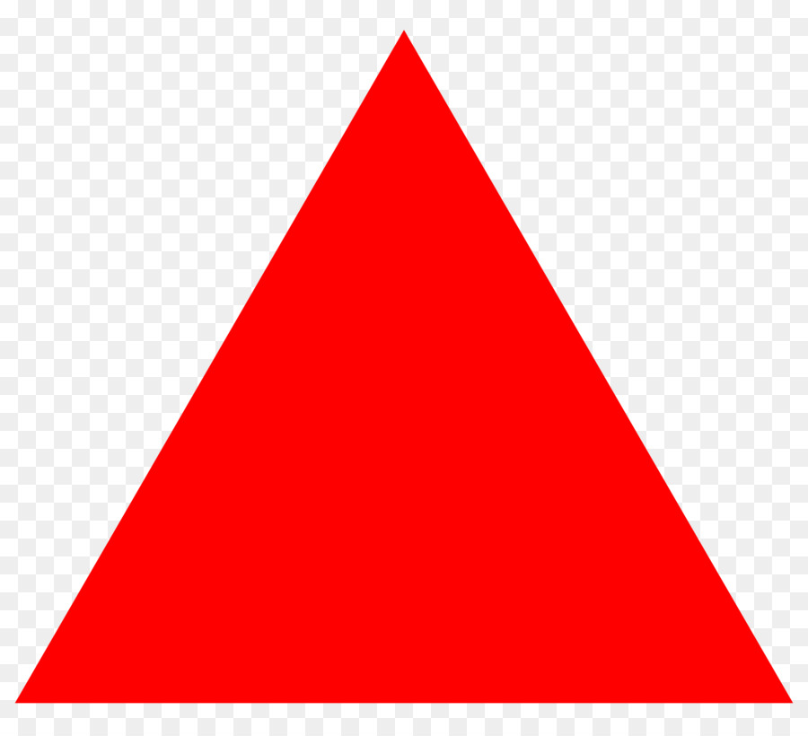 Clipart triangle png library Sky Cartoon clipart - Triangle, Shape, Red, transparent clip art png library
