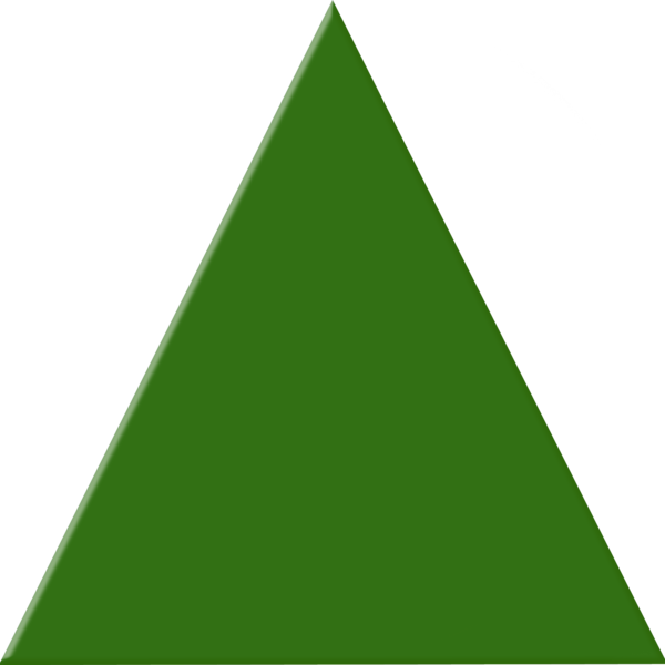 Clipart triangle png free stock Green Triangle   Free Images at Clker.com - vector clip art online ... png free stock