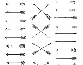 Clipart tribal arrow svg transparent Tribal arrow clipart – Etsy svg transparent
