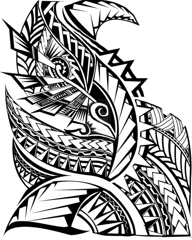 Clipart tribal foundation picture stock Polynesian Tribal Clipart, Wall Drawings Polynesian Art - The Beyer ... picture stock
