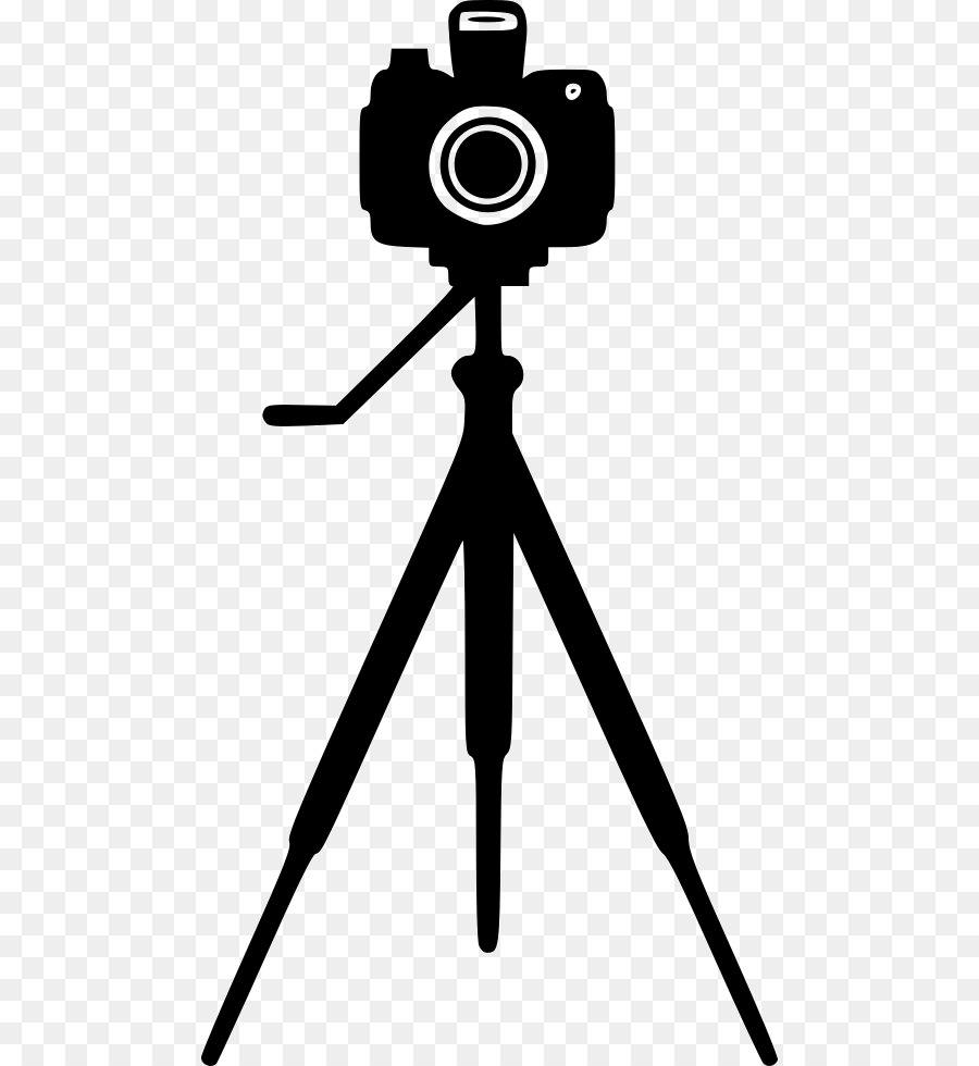 Library of tripod camera graphic freeuse png files Clipart ...