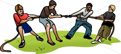Tug Of War Clipart & Look At Clip Art Images - ClipartLook banner transparent stock
