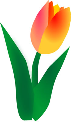 Free Free Tulip Cliparts, Download Free Clip Art, Free Clip Art on ... clip black and white library
