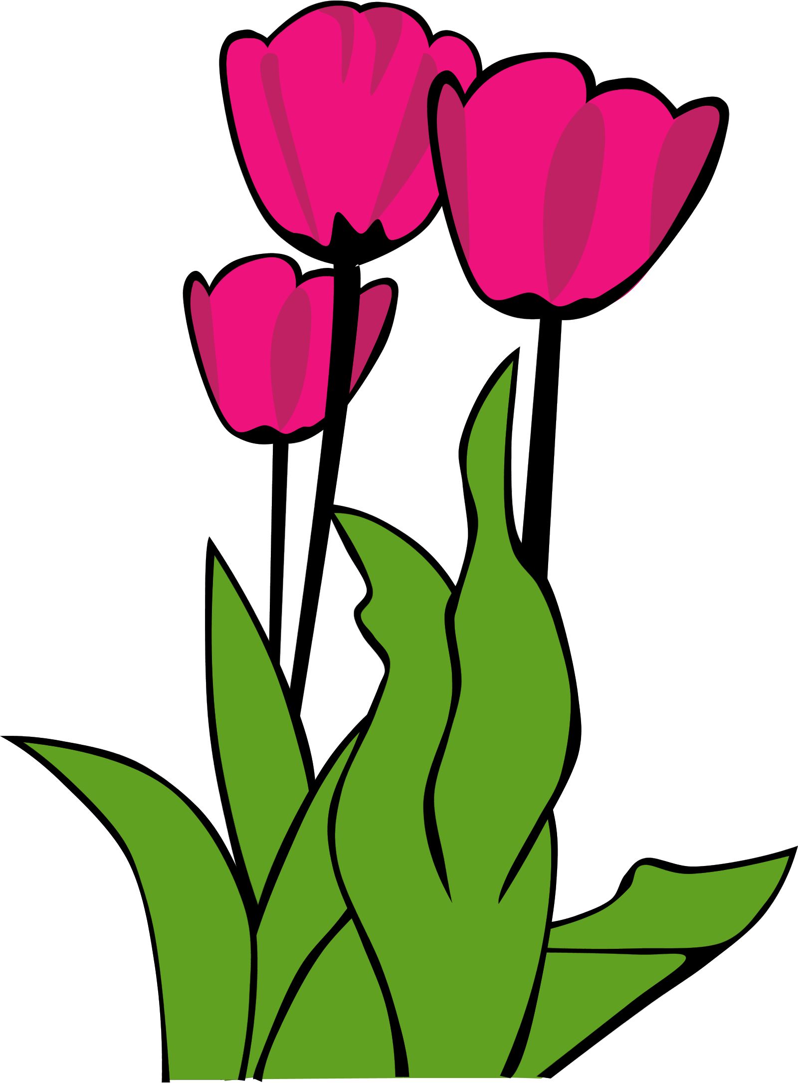 Clipart tulip flower clipart freeuse library Tulips Flowers Clipart clipart freeuse library