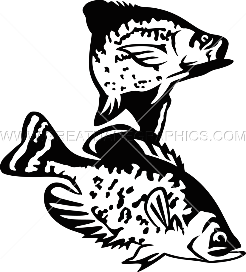 Clipart tuna fish black and white picture free library Crappie Drawing at GetDrawings.com | Free for personal use Crappie ... picture free library