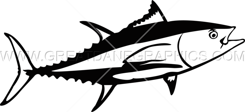 Tuna fish clipart picture library download Funky Tuna | Production Ready Artwork for T-Shirt Printing picture library download