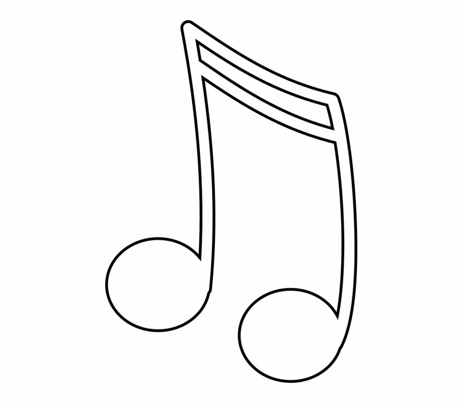 Clipart tune clip art freeuse library Music Notes Clipart Tune - White Music Note Clipart Free PNG Images ... clip art freeuse library