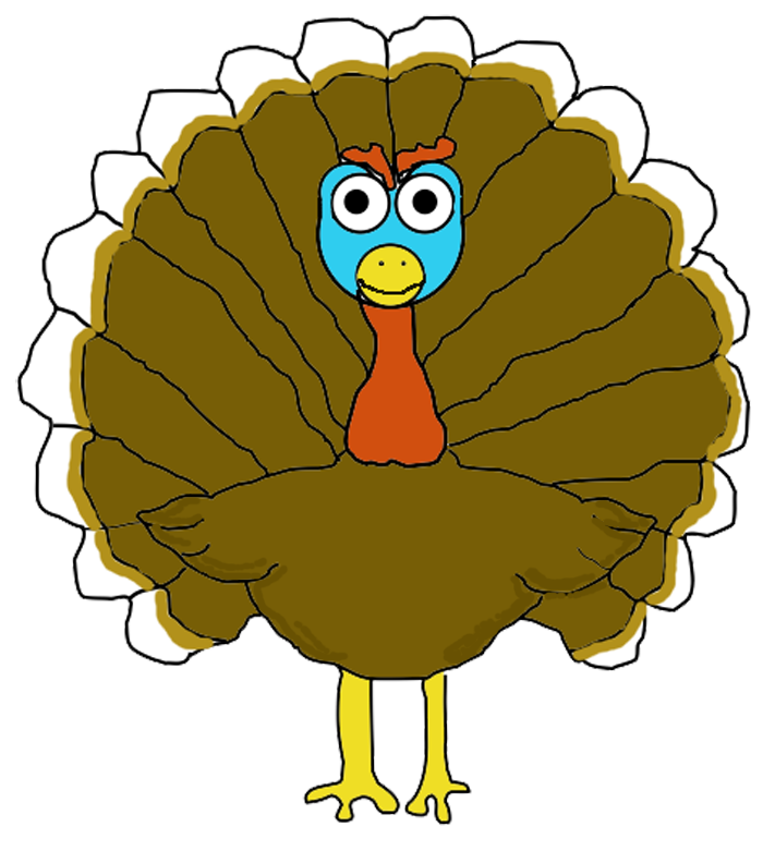 Have Your Turkey 3 Ways – Pencil Topper, Card, Coloring Page Deluxe ... banner freeuse library