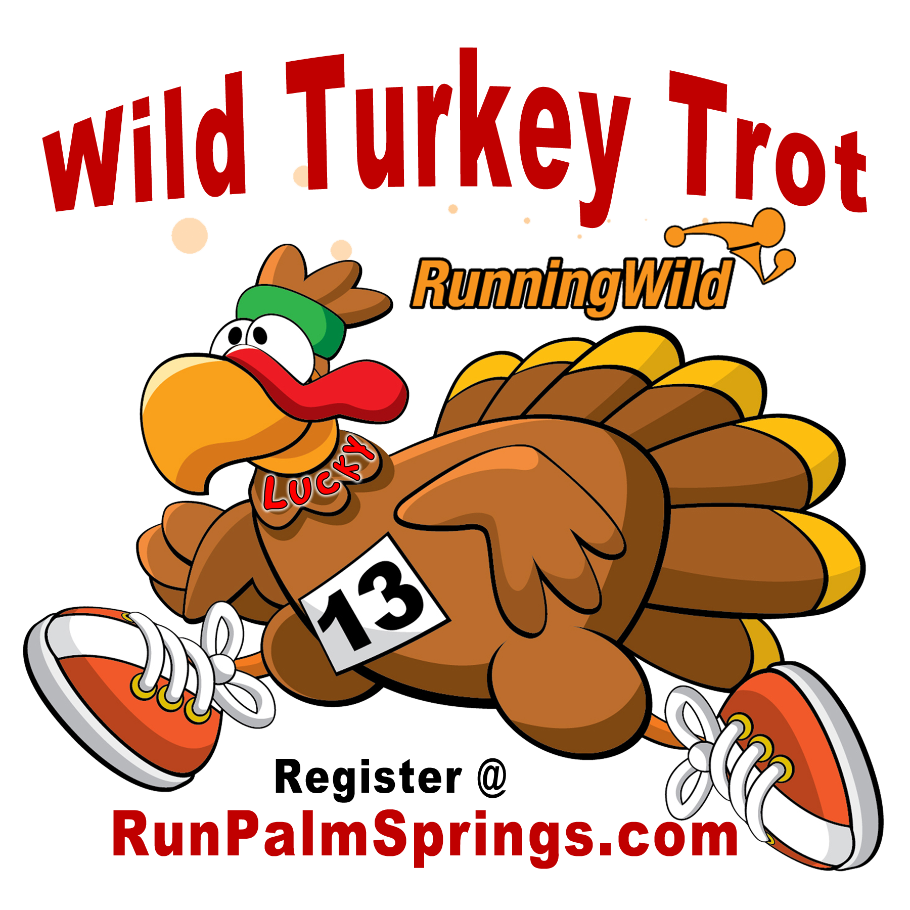 Turkey trot clipart clip black and white 2017 Running Wild's WILD TURKEY TROT 5K clip black and white