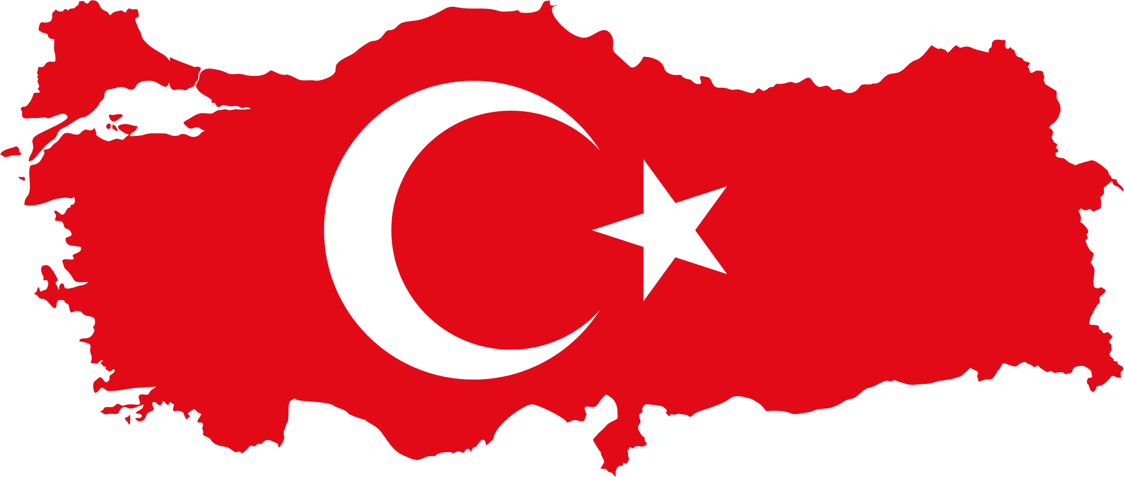 Turkey country clipart clip art royalty free Clipart - Turkey Map Flag clip art royalty free