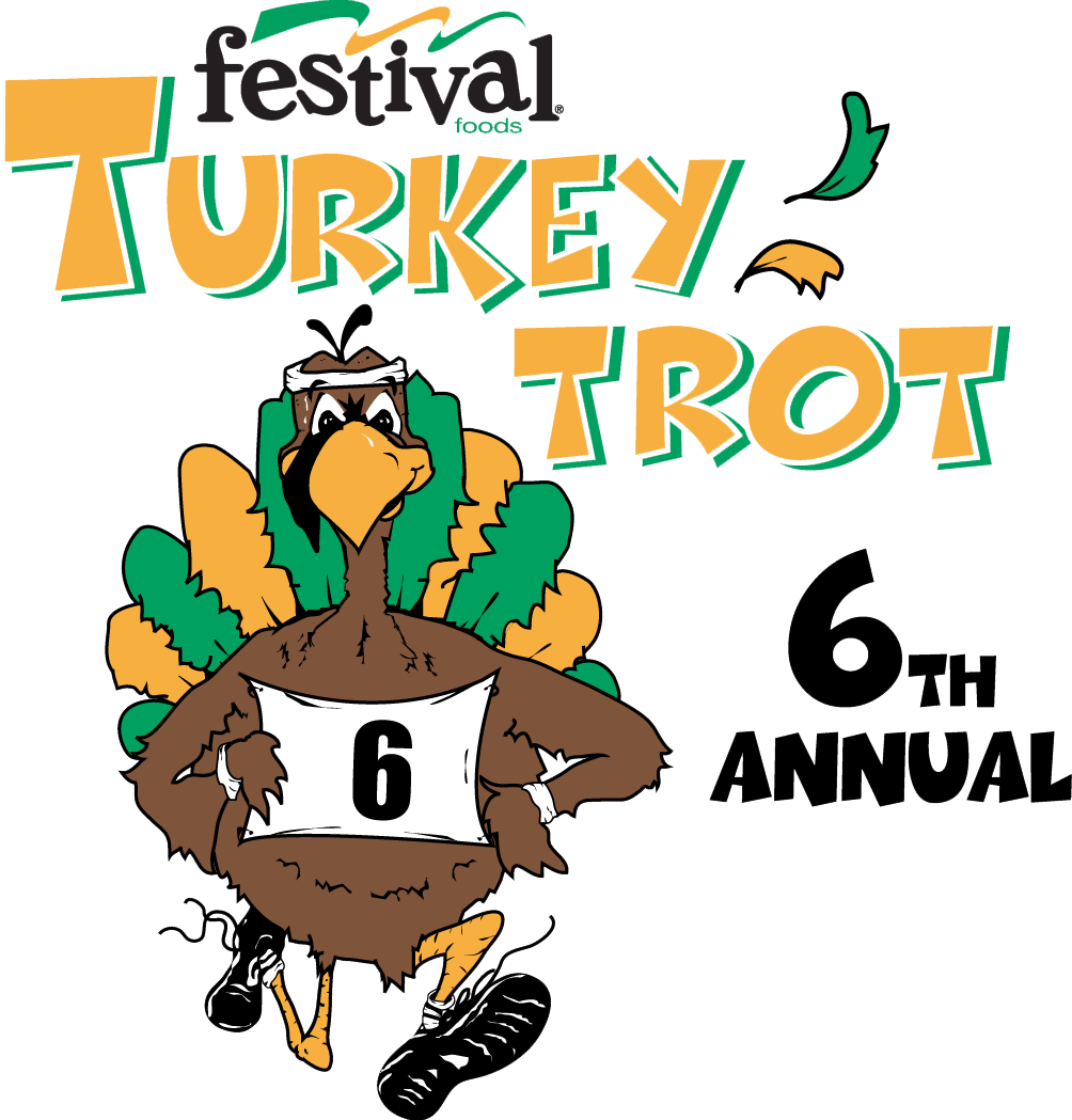 Turkey trop clipart image library download Running Turkey Trot | Clipart Panda - Free Clipart Images image library download