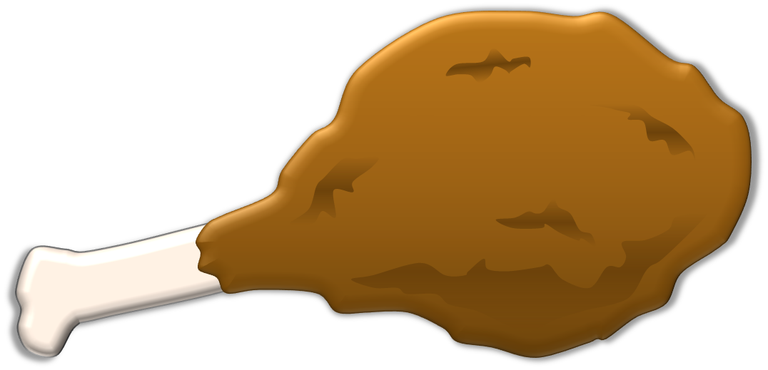 Free fish dinner clipart png transparent 28+ Collection of Clipart Turkey Leg | High quality, free cliparts ... png transparent