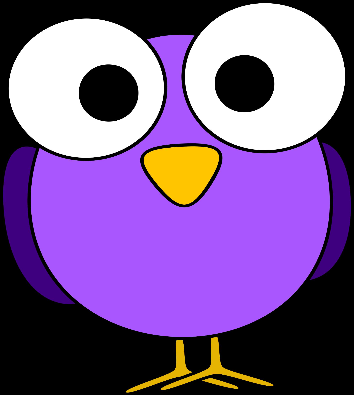 Clipart turkey wide eyes graphic black and white Cute purple, big eyed bird | Cartoon Aniamls | Pinterest | Bird ... graphic black and white