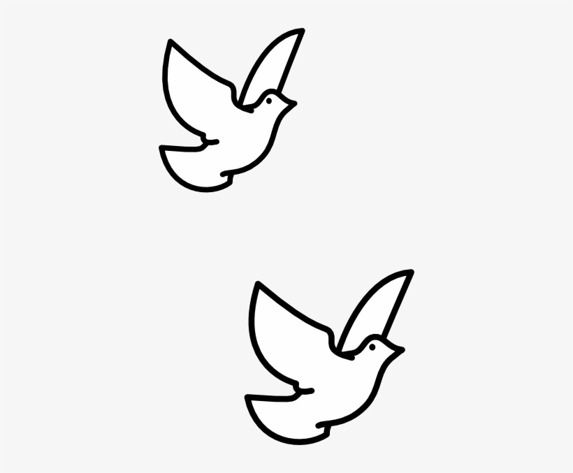 Turtledove clipart vector freeuse download Drawn Turtle Dove Vector - Clipart Flying Bird Drawing Transparent ... vector freeuse download