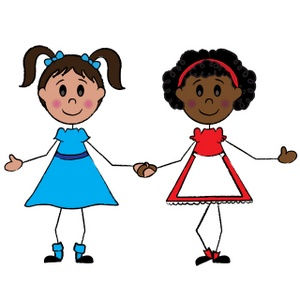 Best friends holding hands clipart picture freeuse library Free Girls Cliparts, Download Free Clip Art, Free Clip Art on ... picture freeuse library
