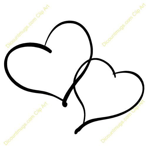 Clipart two hearts intertwined.  best ideas about