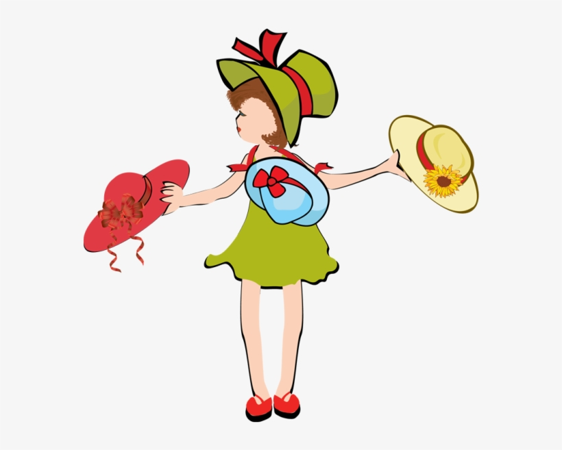 Clipart types banner download Clip Art Of Many Different Types Of Hats - Girl Wearing Many Hats ... banner download