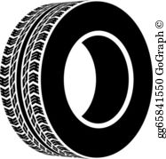 Clipart tyre clip free download Tyre Clip Art - Royalty Free - GoGraph clip free download