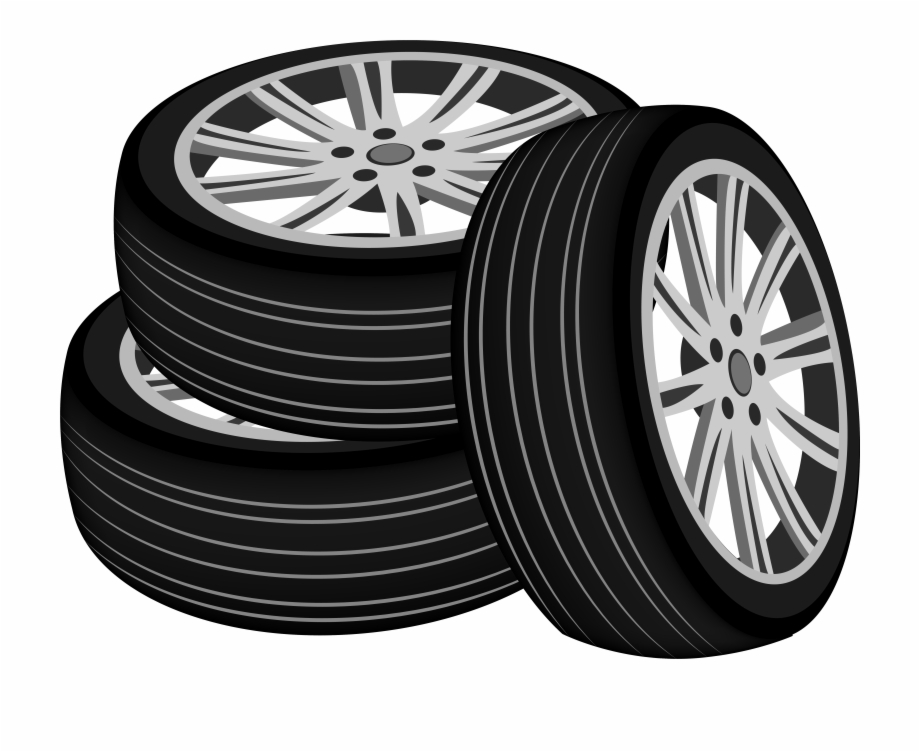 White tire clipart vector library library Royalty Free Stock Tires Png Clipart - Tyre Clipart Black And White ... vector library library