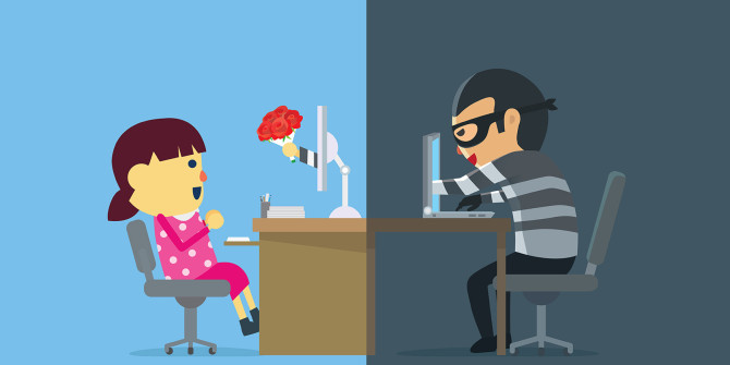 Clipart u s marine talks to elderly lady jpg stock How to Spot and Avoid an Online Dating Scammer: 8 Red Flags jpg stock