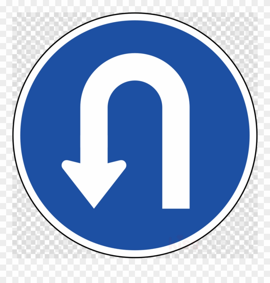 Turn clipart picture library library Traffic Sign Clipart Traffic Sign U-turn - Green Tick - Png Download ... picture library library