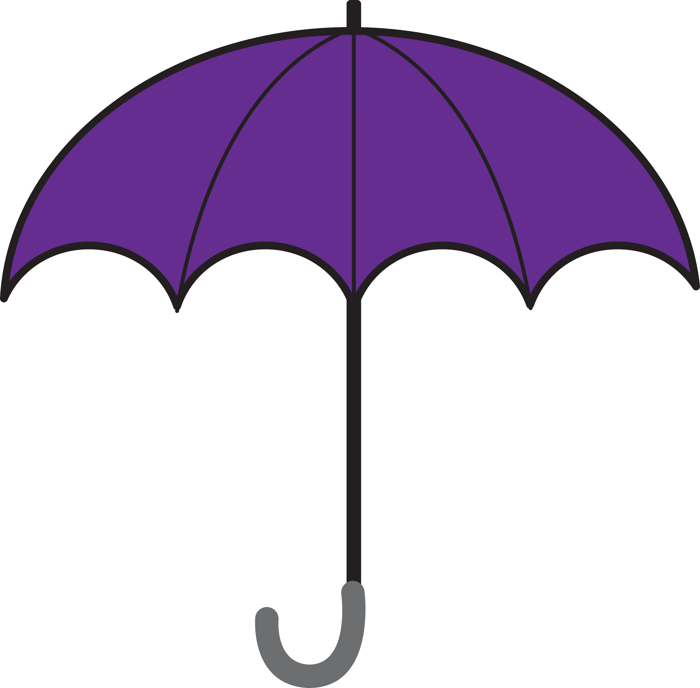 Clipart umbrella clipart freeuse download Clipart - Open Umbrella clipart freeuse download
