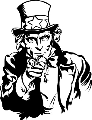 Free uncle sam clipart clipart black and white download Free Uncle Sam Pictures, Download Free Clip Art, Free Clip Art on ... clipart black and white download