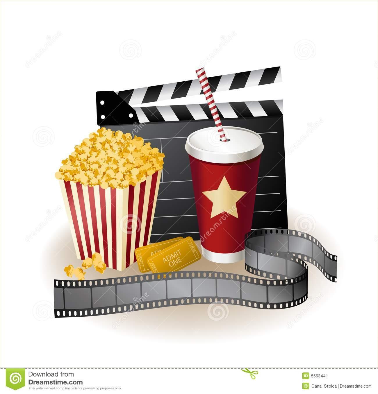Clipart und medien site jpg black and white download Popcorn und cola clipart - ClipartFest jpg black and white download