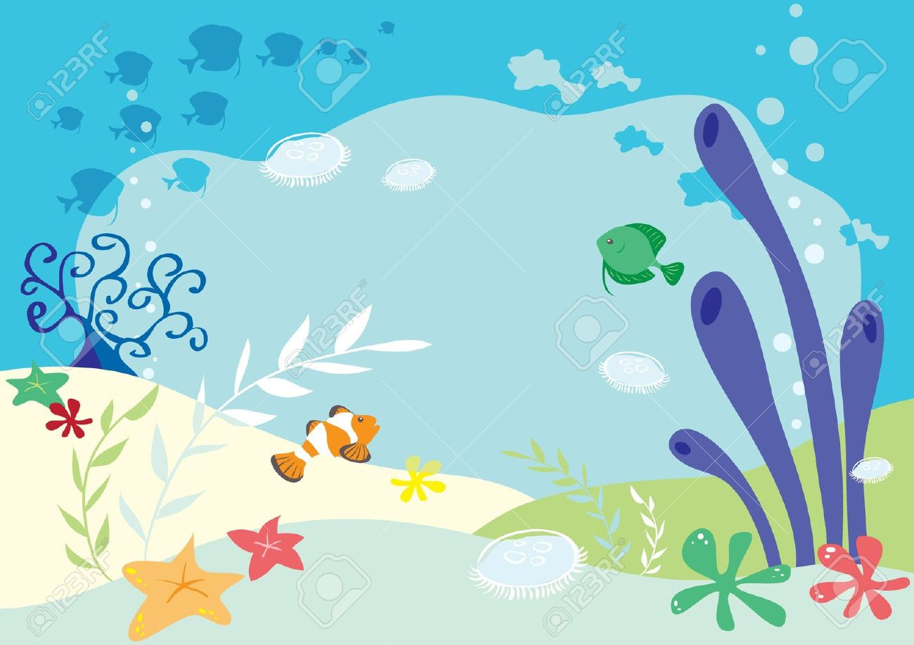 Under sea clipart vector royalty free stock Free Sea Cliparts, Download Free Clip Art, Free Clip Art on Clipart ... vector royalty free stock
